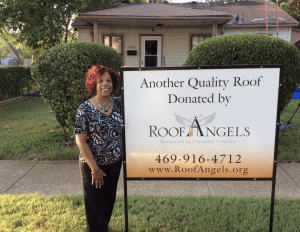 To differentiate his firm's charitable work from its for-profit work, Zazo officially established the non-profit Roof Angels in 2013.