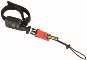 The wrist lanyard systems can safely handle tools up to 5 pounds.