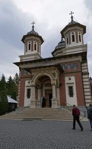Photo 23. Sinaia Monastery. The Holy Trinity church, built in the 19th century Photo: Ana-Maria Dabija.