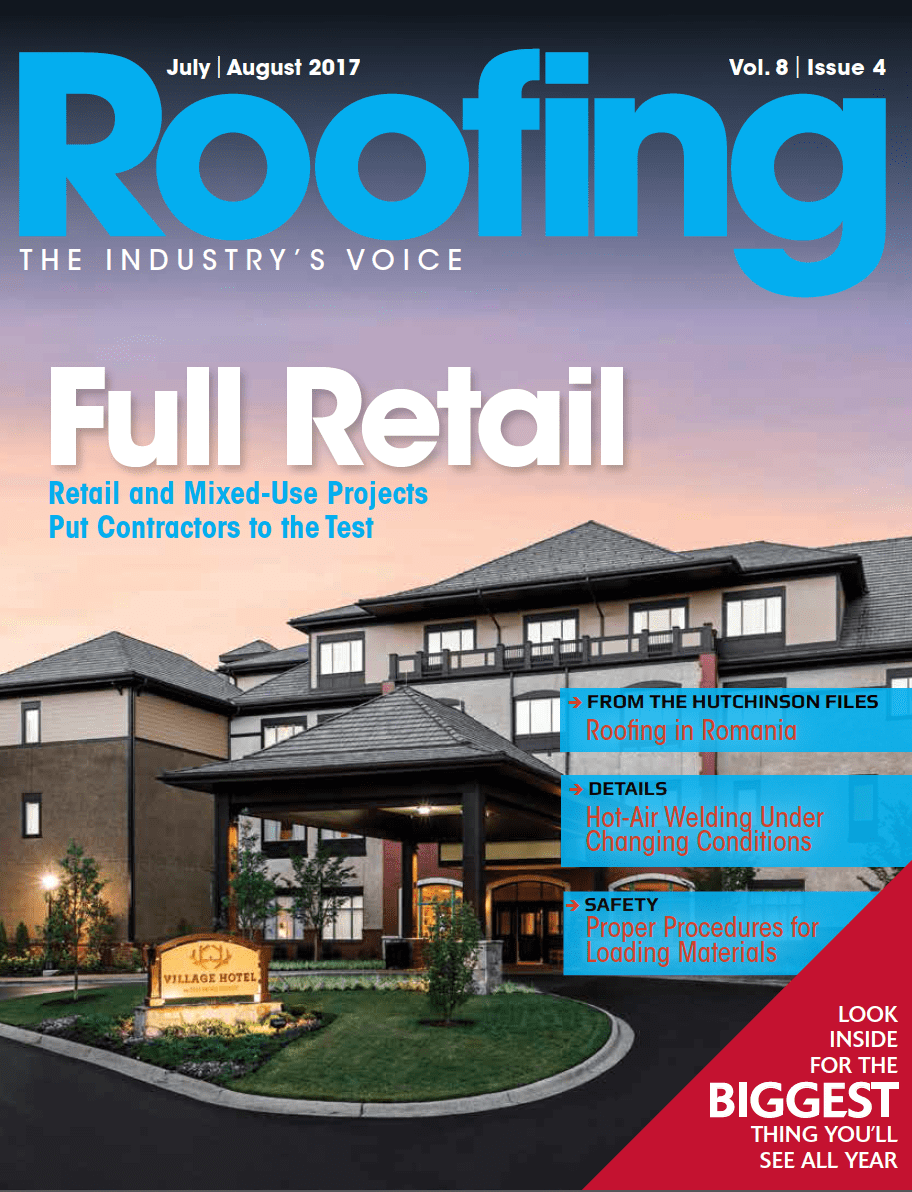 Roofing July/August 2017 issue