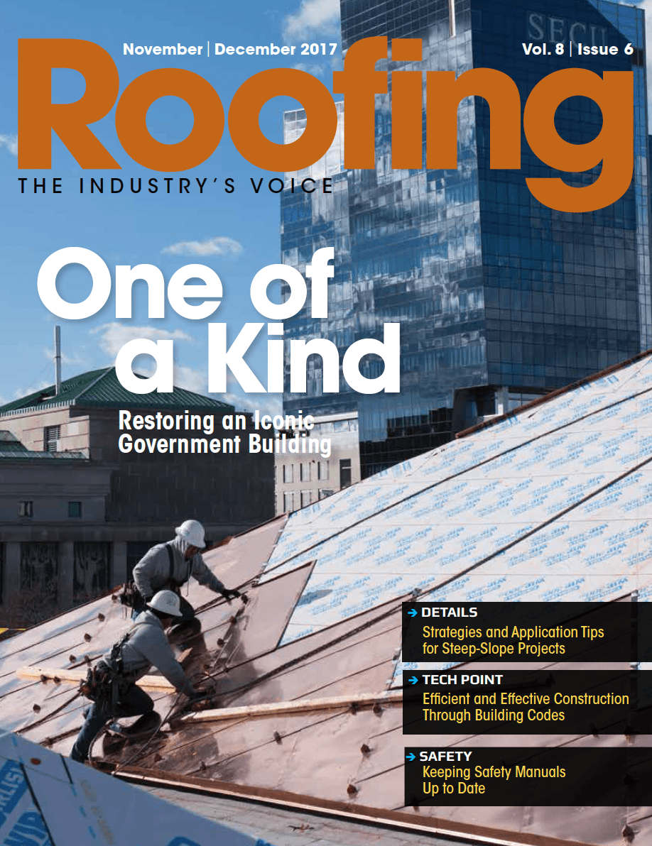 Roofing November/December 2017 issue