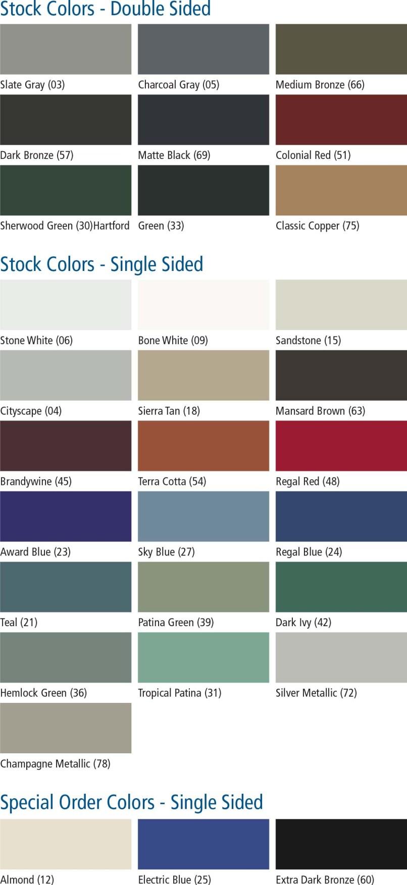 Firestone Una Clad Color Chart Zeenla