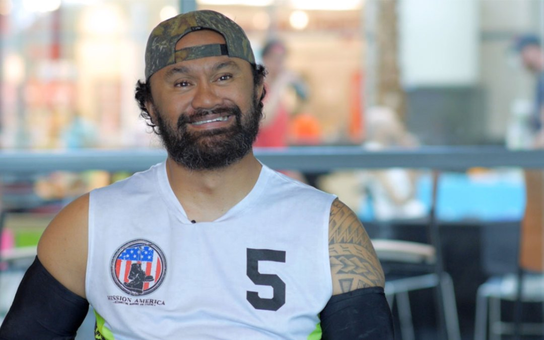 Injured Military Veterans Play Wheelchair Rugby with Civilian Peers