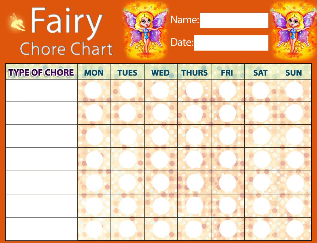 Fairy Chore Chart