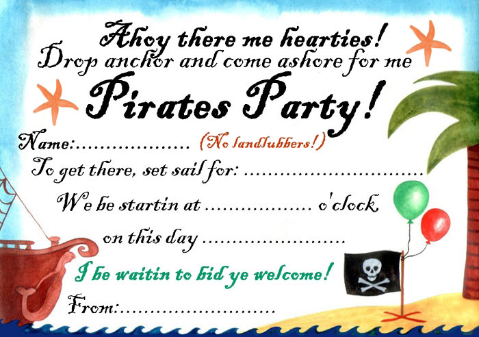 Party Invitations | Rooftop Post Printables