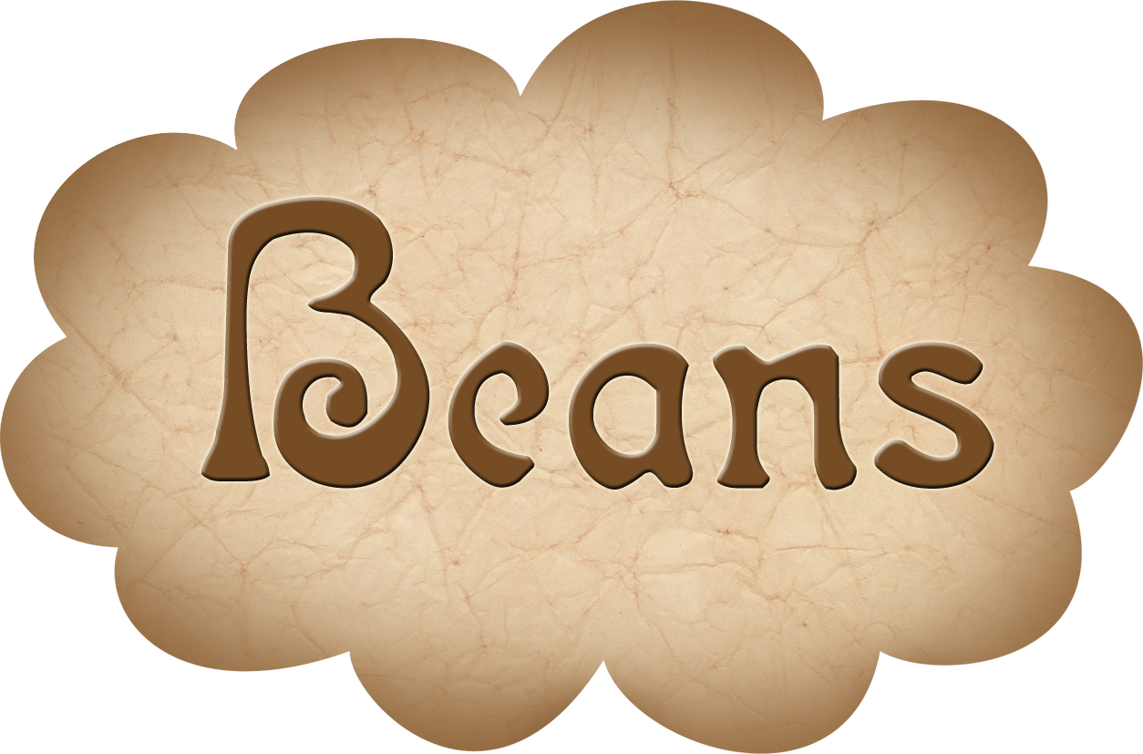 Pantry Label Beans
