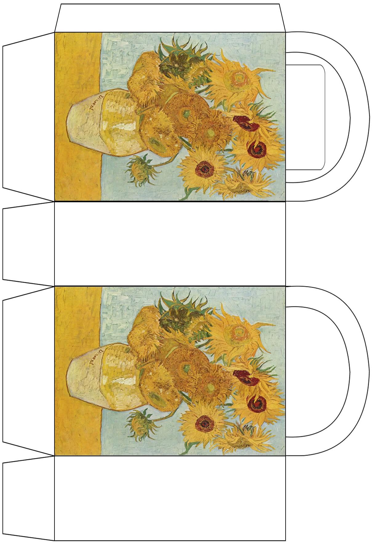 Van Gogh Sunflowers Party Bag