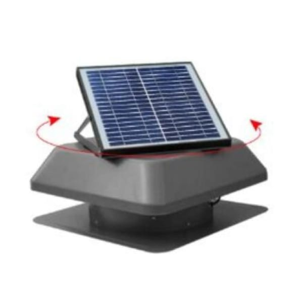 solar roof vents for houses