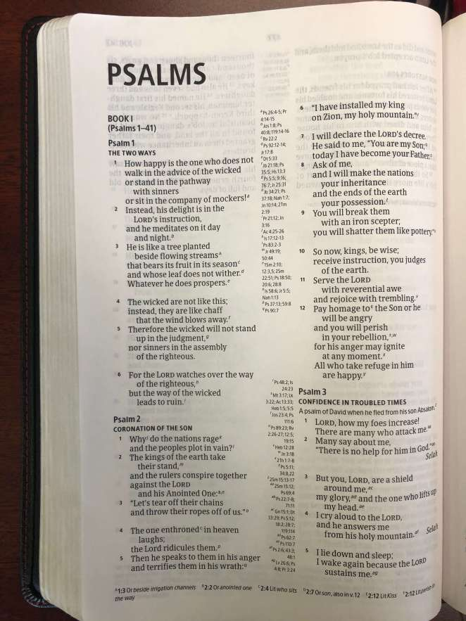 CSB Ultrathin Reference Bible Interior