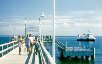 Seebrücke am Zinnowitzer Strand
