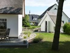 Gartenhaus für die Fahrräder