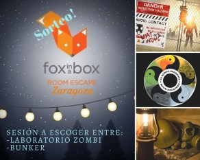 Sorteo Fox in a box