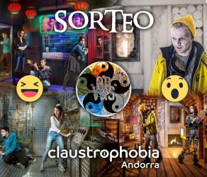 Sorteo Claustrophobia