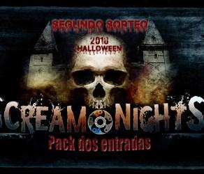 Sorteo Scream Nights Park