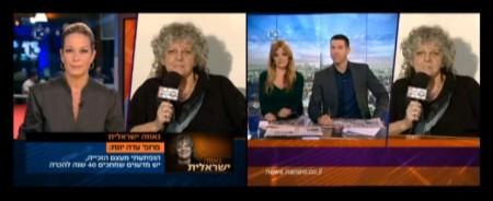 הראיון הכפול עם פרופסור עדה יונת בערוץ 10