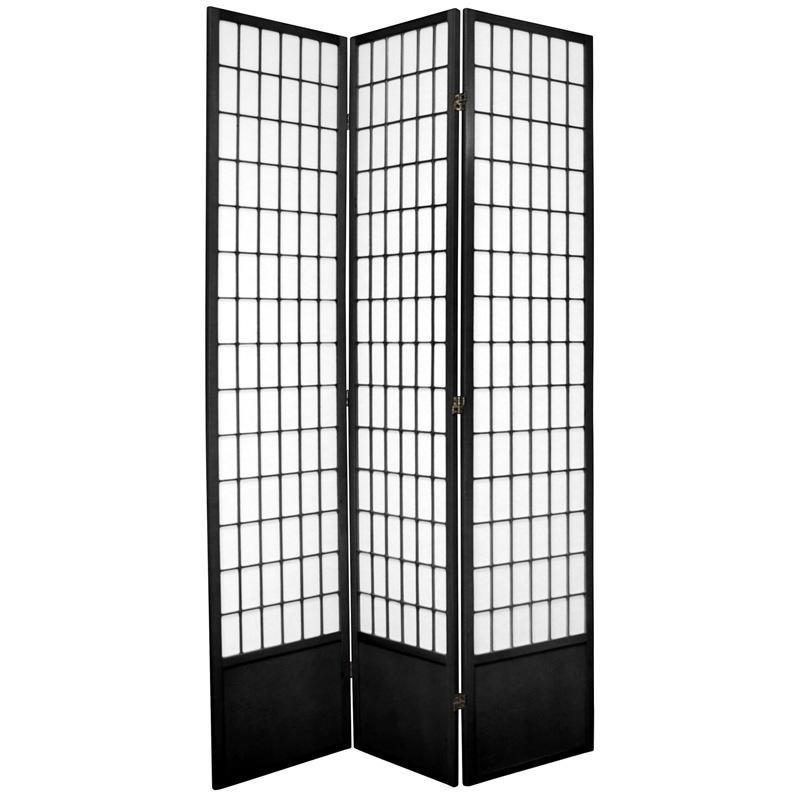 7 ft tall window pane shoji screen