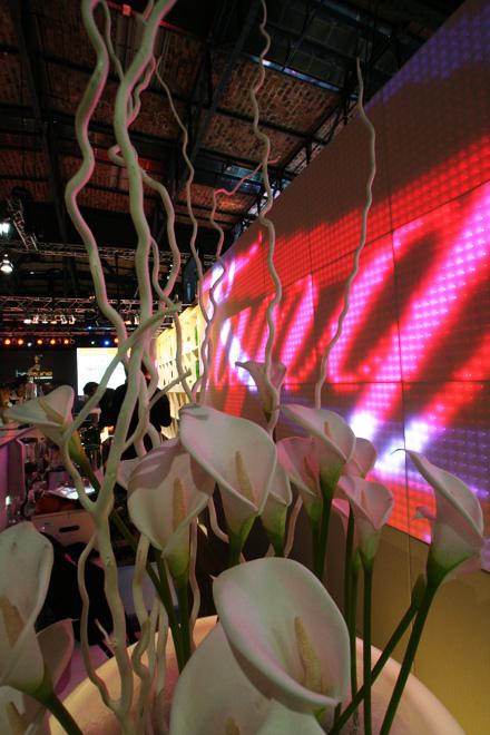 Room Division Dreampanel Backdrop für Diageo Messestand