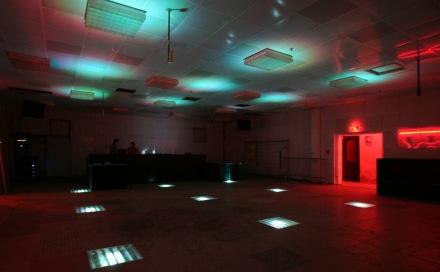 Room Division LED Installation im RECHENZENTRUM BERLIN