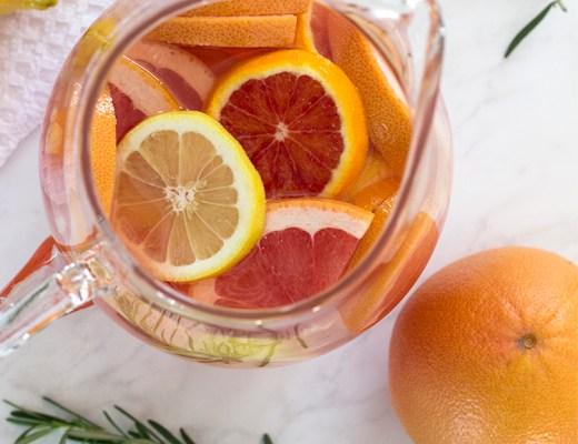 winter citrus sangria