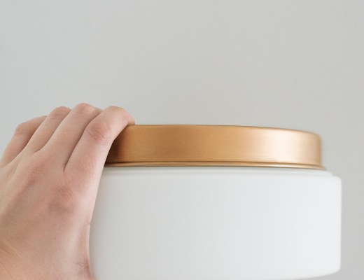 A Trick for Switching Light Fixture Finishes - roomfortuesday.com