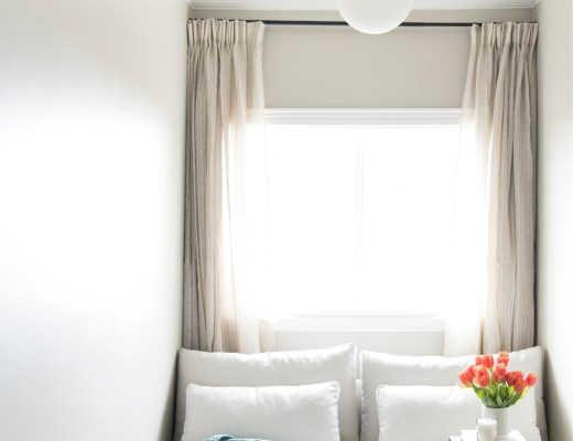 Guest Room Window Nook - roomfortuesday.com