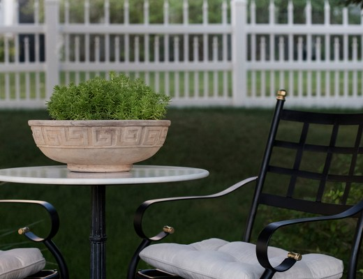 Patio Chair Makeover - roomfortuesday.com