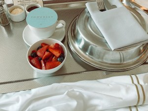 Breakfast In Bed Chicago Hotel Morning Routine Lacy Transeau
