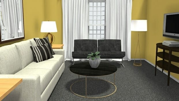 Roomsketcher Blog 8 Expert Tips For Small Living Room Layouts