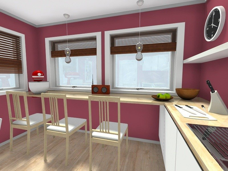 Open Plan Galley Kitchen Designs