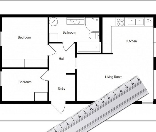 Roomsketcher Integrated Measuring Tools