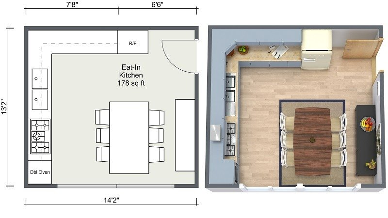 Kitchen Design 4m X 3m