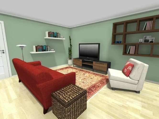 Living Room Furniture Arrangement With Tv