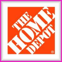 The Home Depot sponsor square.