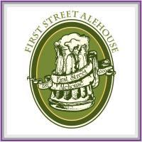 photo of First Street Alehouse logo. Version 2.