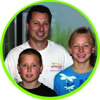 This is a photo of Todd and his sons for the Contractor webpage.