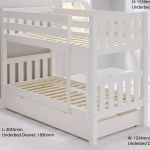 Jubilee Bunk Bed In Surf White Room To Grow