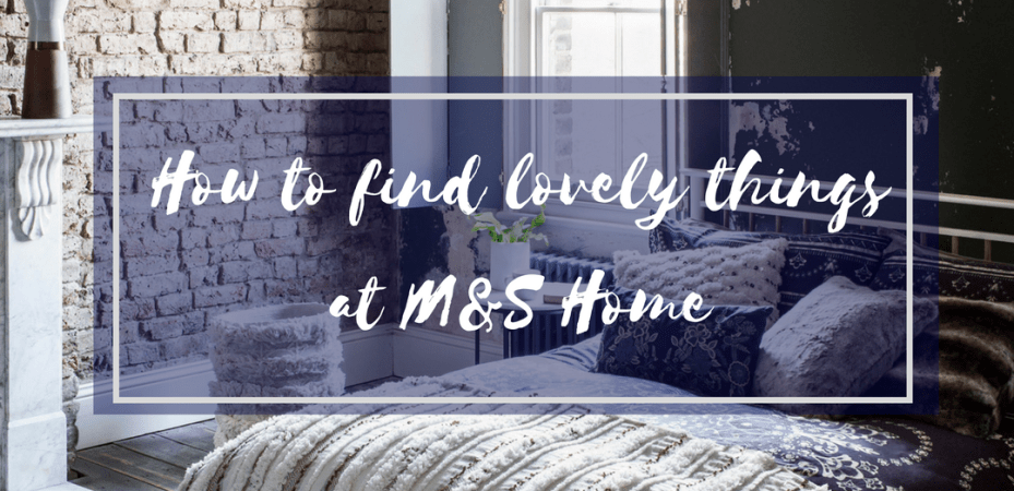 Roomy Home M&S homes interiors shopping