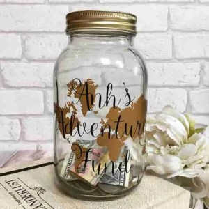 Etsy gift guide adventure travel fund jar