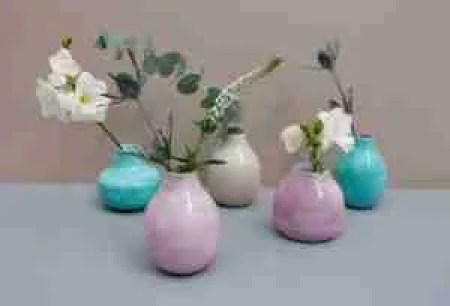 Mothers Day Etsy gifts enamel bud vase trio Roomy Home UK