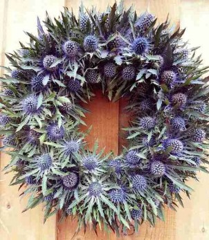 Etsy gift guide thistle seaholly door wreath