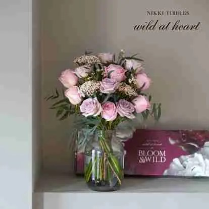 Bloom and Wild Wild at Heart Eternal Love bouquet Roomy Home hearts interiors