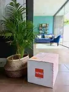 Roomy Home Hema edit UK delivery parcel