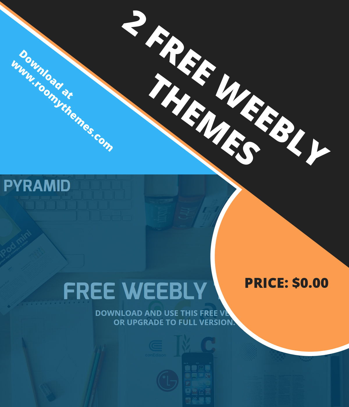 2 New Free Weebly Themes To Download Roomy Themes
