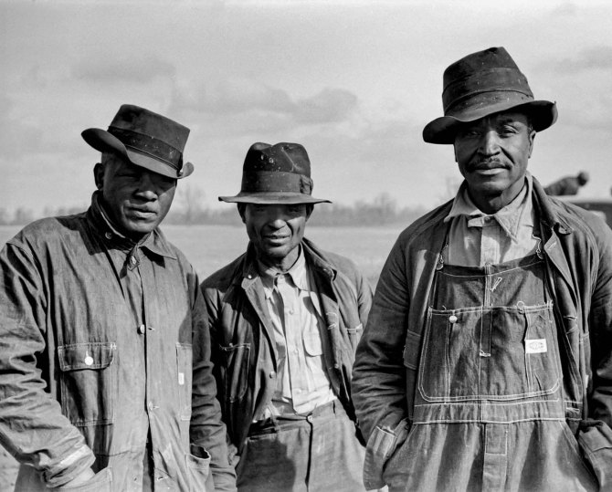 Evicted sharecroppers. New Madrid, MO 1938