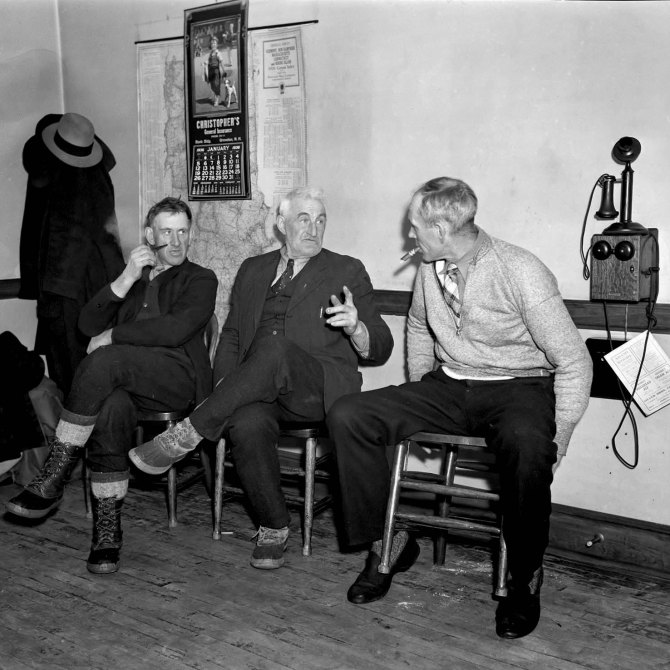 Farmers' Cooperative Society board members. Coos County, New Hampshire. 1936.