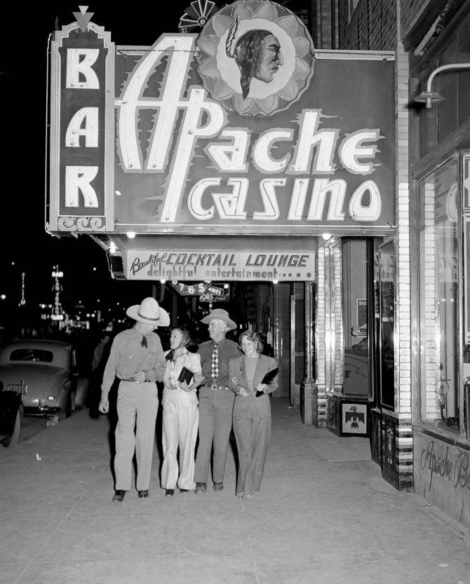 Main Street. Las Vegas, Nevada. 1940.