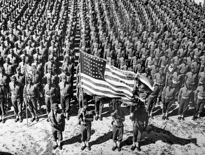 143 41st Engineers, Fort Bragg, North Carolina. 1942.