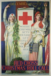 Red Cross Christmas Roll Call December 16th to 23rd Poster
