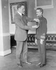 Picture of FDR bestowing medal