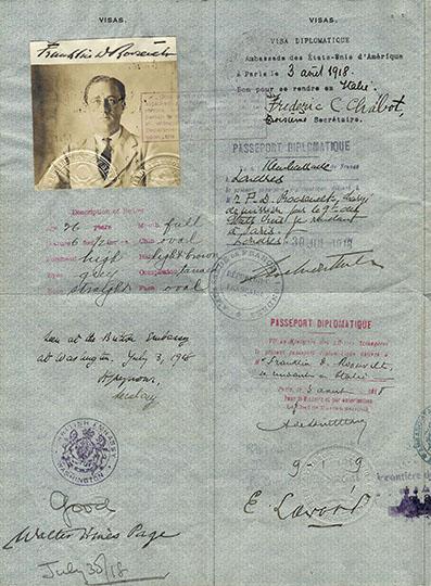 FDR's Passport